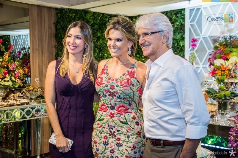 Candice Trajano, Pauliani Campos e Tom Trajano