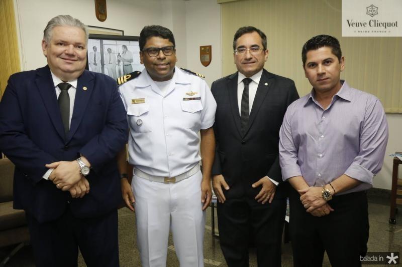 Pedro Jorge, Jose Roberto, Jardson Cruz e Pompeu Vasconcelos
