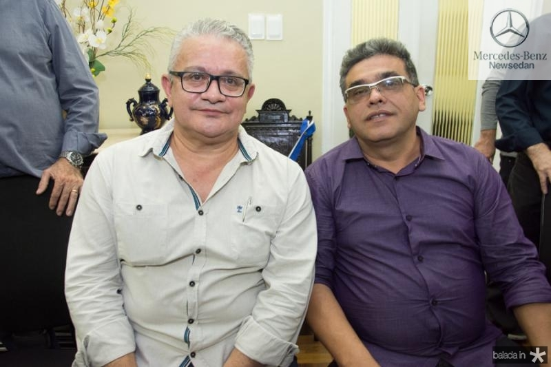 Luiz Sergio Santos e Joaquim Melo