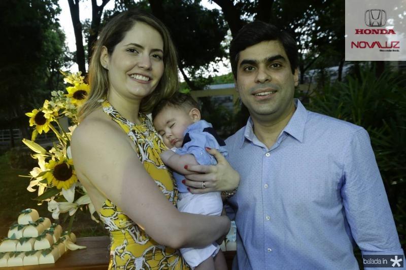 Camila e Queiroz Neto e Queiroz Filho