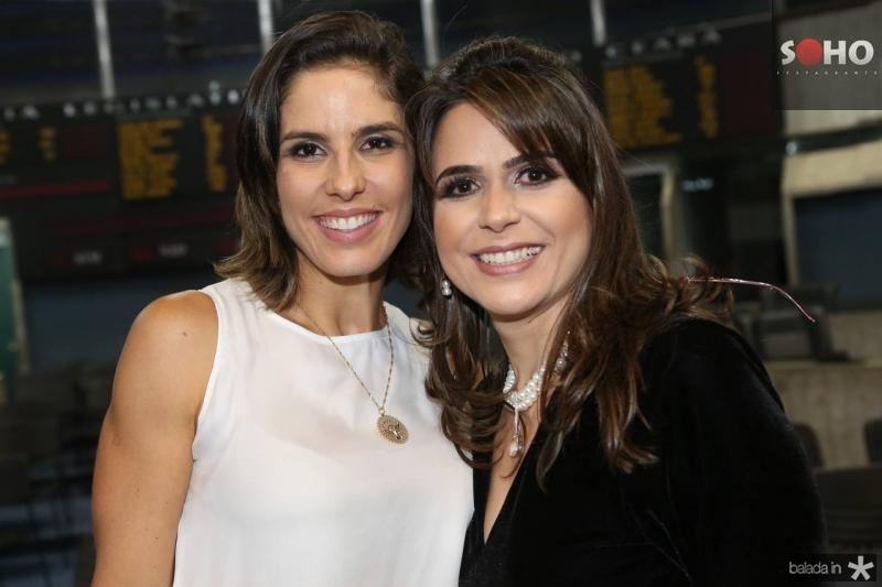 Marilia Fiuza e Camila Benevides