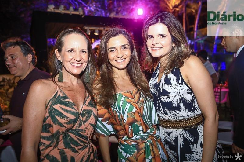 Denise Pinheiro, Cristina Brasil e Cristine Feitosa