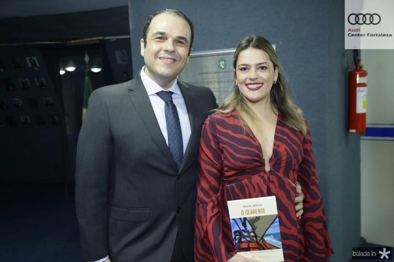 Sarquis Fermanian e Sarah Araujo