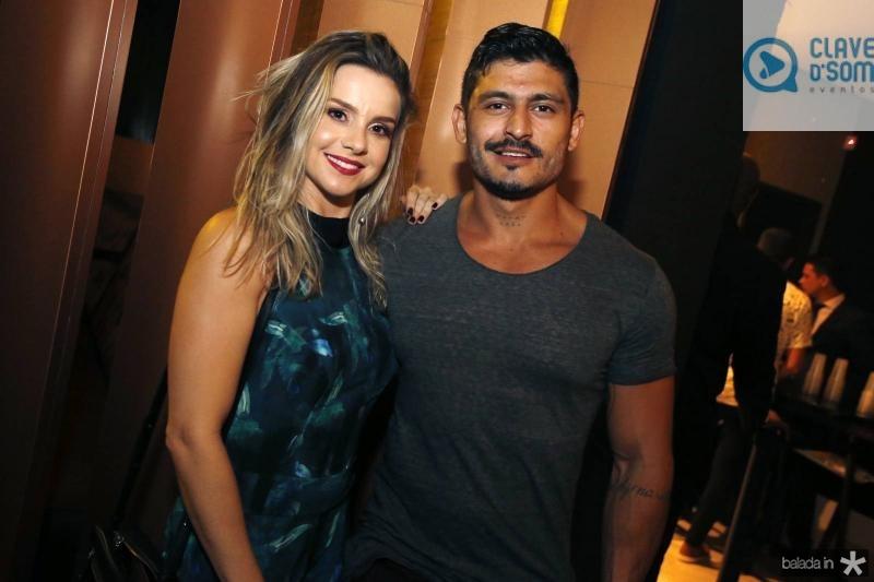Ana Marcatti e Bruno Correa