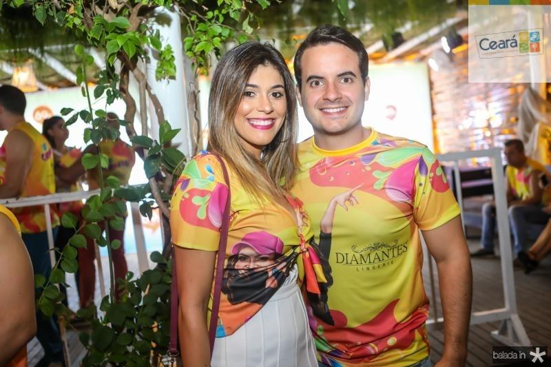 Monica Pinto e Gurgel Neto
