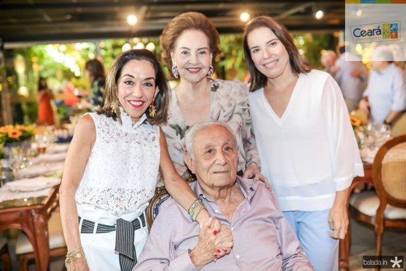 Marcia, Norma, Humberto e Denise Bezerra