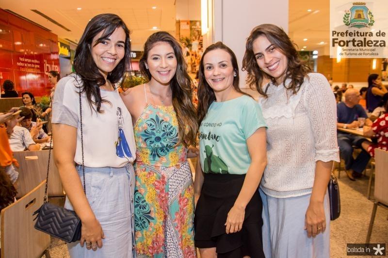 Patricia Menezes, Claudia Vidal, Patricia Loiola e Renata Vale
