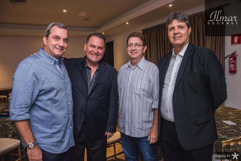 Kalil Otoch, Jorio da Escossia, Carlos Machado e Marcos Oliveira