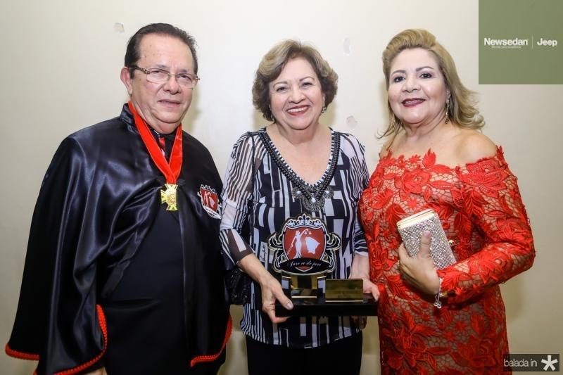 Jose Valdo, Joselia Almeida e Marta Peixe