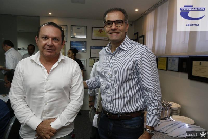 Max Bezerra e Luiz Eduardo Figueiredo