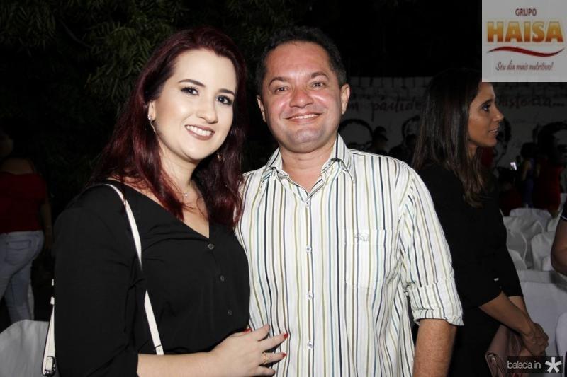 Germana Pinheiro e Felipe Costa Lima