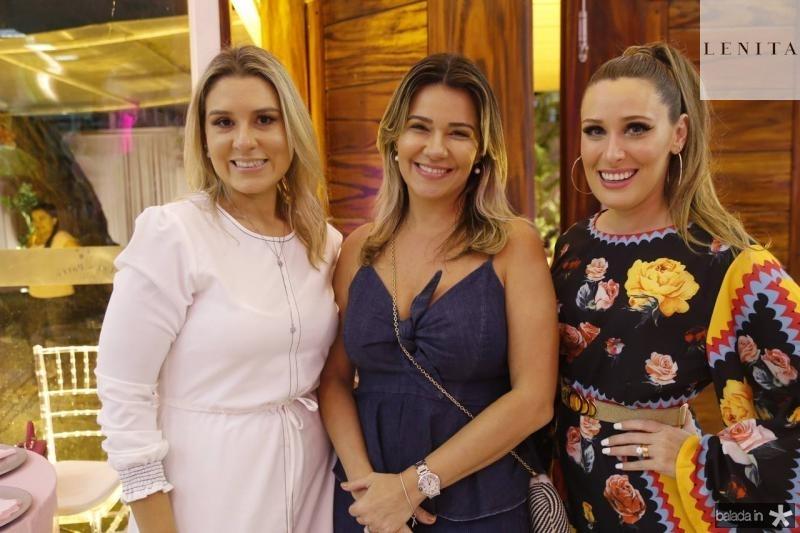 Jessica Rocha, Jeritza Gurgel e Monique Sales