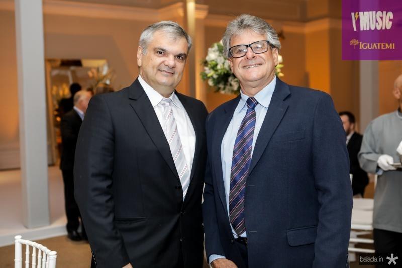 Fran Gazelle e Roberto Villa Nova