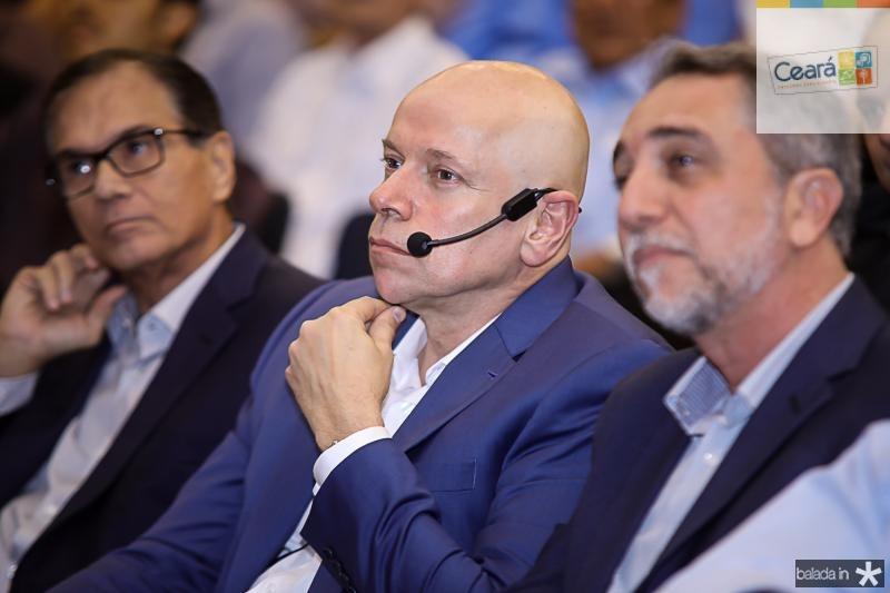 Beto Studart, Leandro Karnal e Mauro Costa