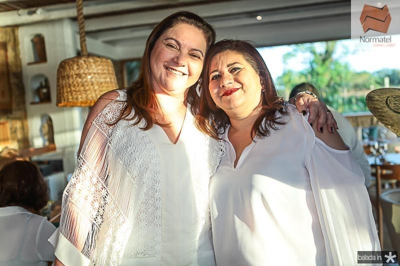 Lili Cialdini e Selene Paiva