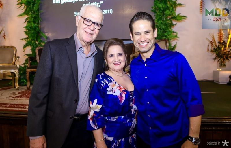 Humberto Lima, Auricelia Queiros e Davi Rodrigues