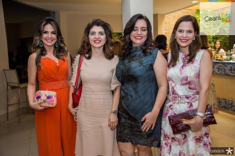 Eveline Fujita, Rilka Bezerra, Lia Freire e Cristiana Carneiro