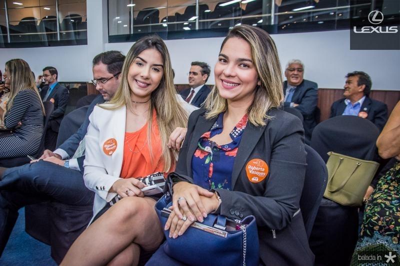 Sara Moura e Karen Dantas