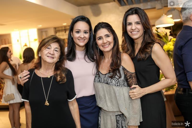Alci Ponce, Sara Viana, Luciana Cidrao e Raquel Fechine