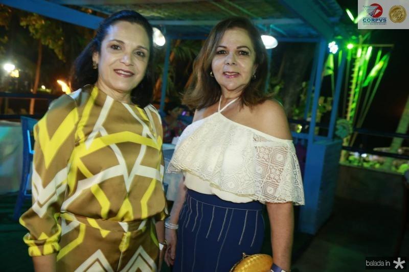 Elusa e Fernanda Laprovitera