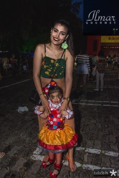Gabriela Fernandes e Valentina Fernandes
