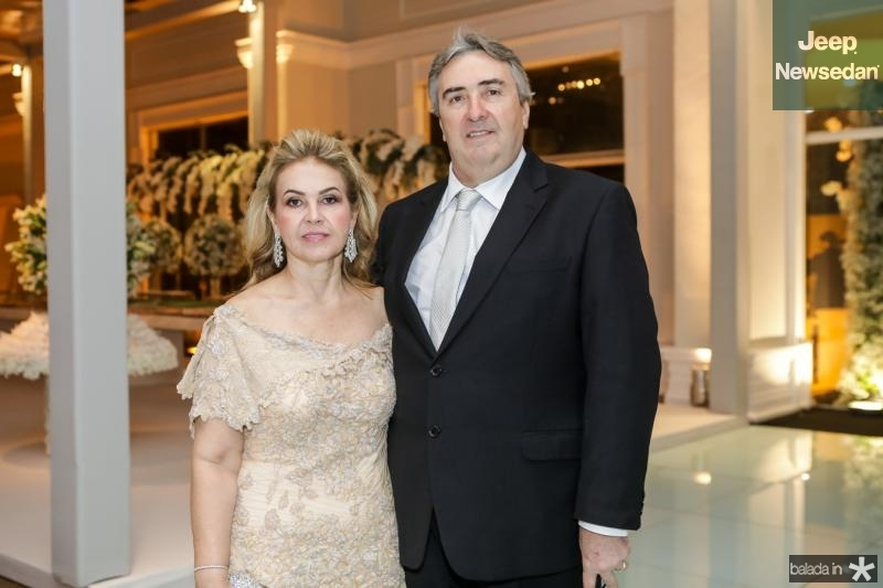 Sandra e Luis Frota