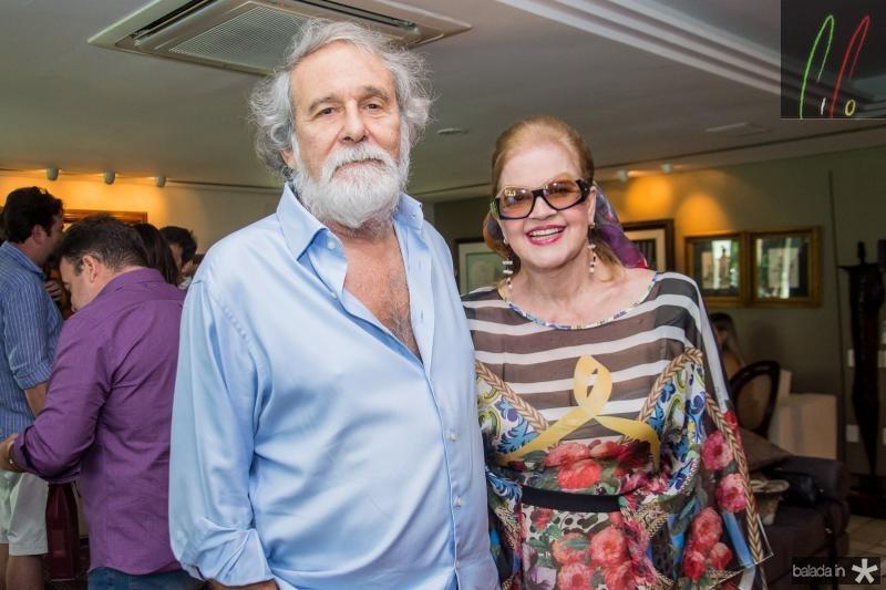 Wilmar Girao e Liliana Fiuza