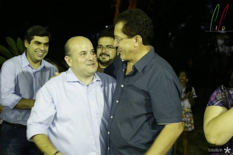 Roberto Claudio e Elpidio Nogueira