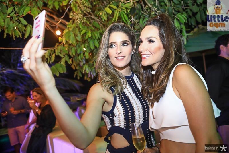 Rebeca Bastos e Marcela Carvalho