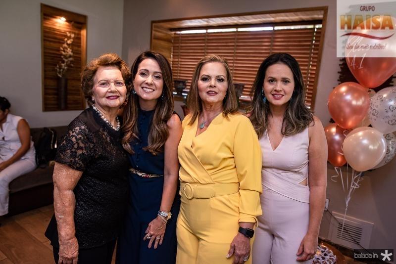 Rosa Virginia, Claudiana Loureiro, Teka Leitao e Ticiana Leitao