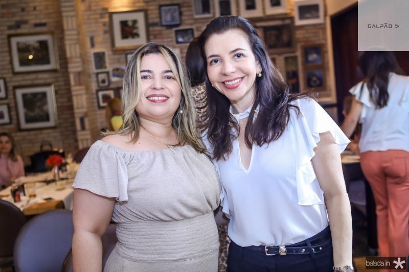 Cecilia Sousa e Socorro Lucena