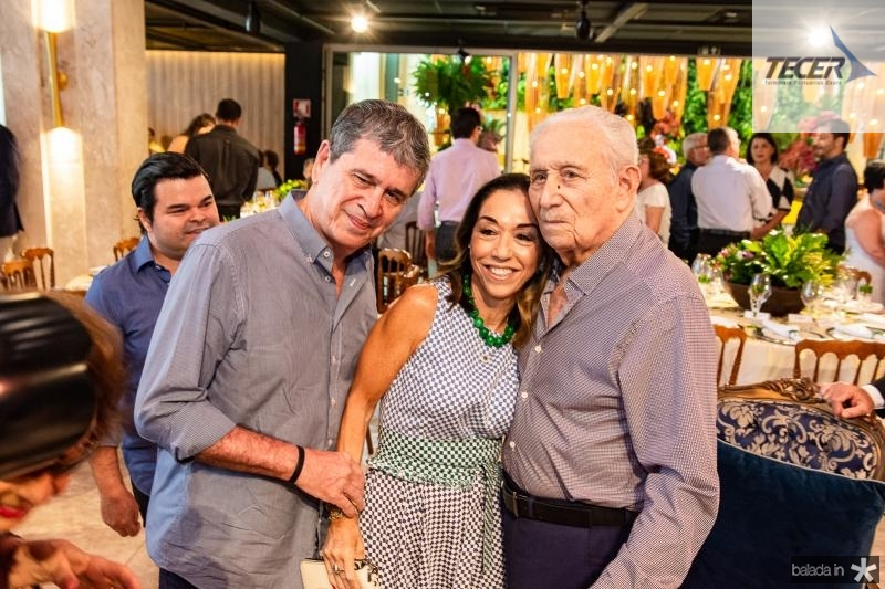 Marcio Tavora, Marcia Tavora e Humberto Bezerra