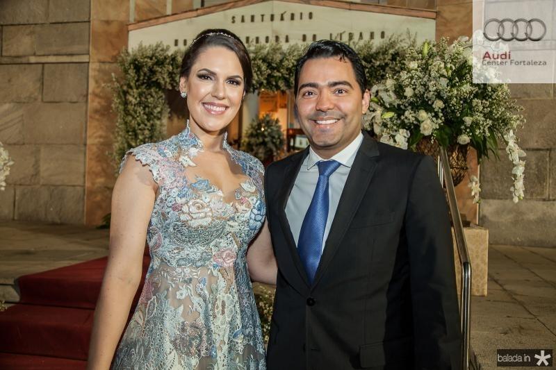 Larissa e Andre Laprovitera