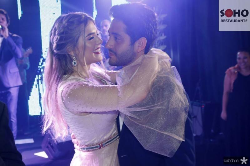 Paula Linhares e Hugo Santiago