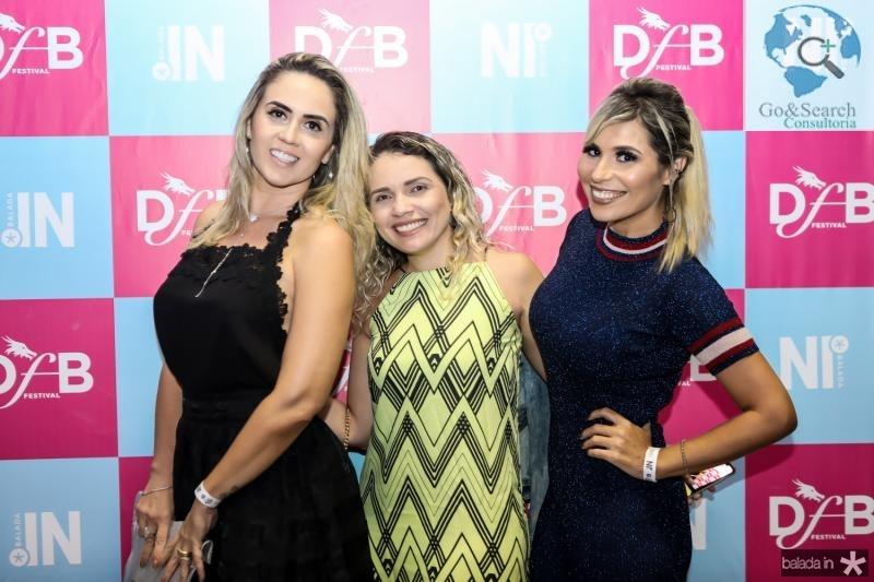 Ricassia Almeida, Gleice Martins e Grazi Nogueira