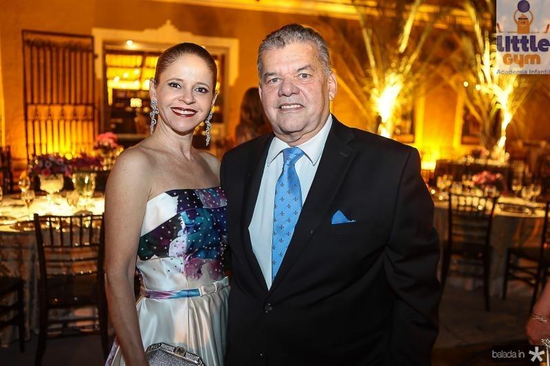 Claudiana e Carlos Juacaba