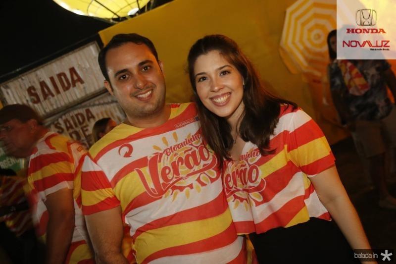 Olavo Dias e Erika Dauer