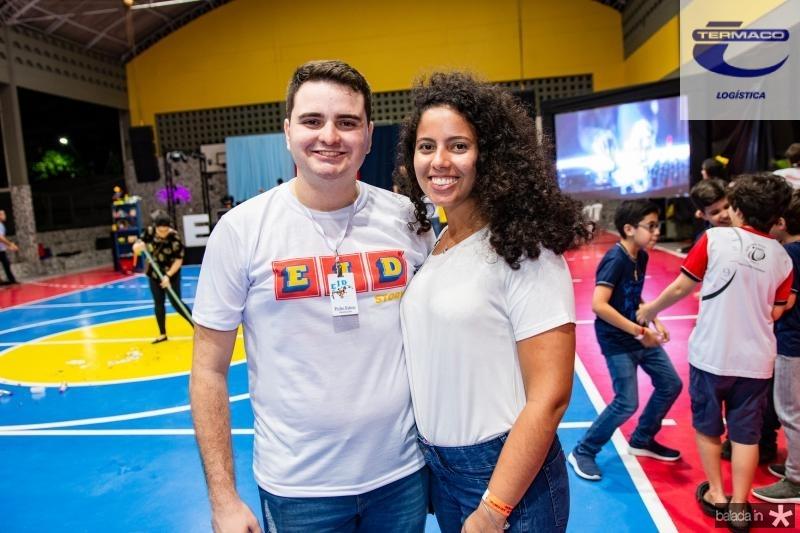 Pedro Edson e Julia Bede