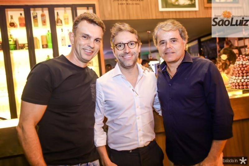 Fred Pinto, Francisco Marinho e Ivan Bezerra