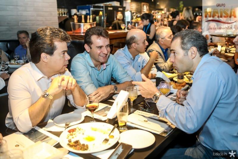 Duda Brigido, Fernando Gurgel e Eduardo Figueiredo