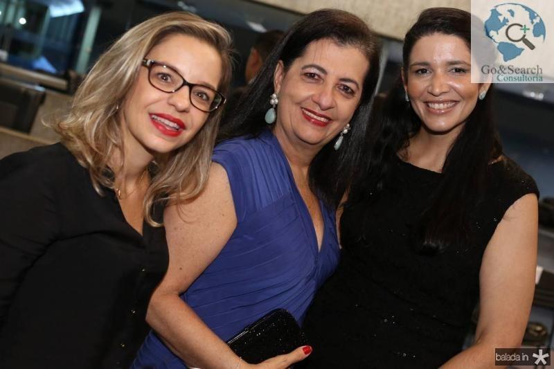 Fernanda Mendonça, Fatima Serpa e Nanu Rosas