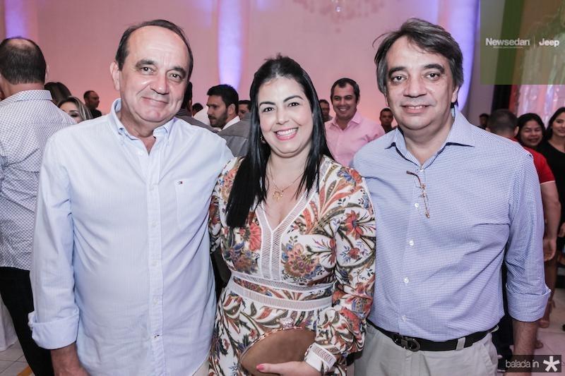 Joao Junior, Leticia Goncalves e Carlos Gualter Lucena