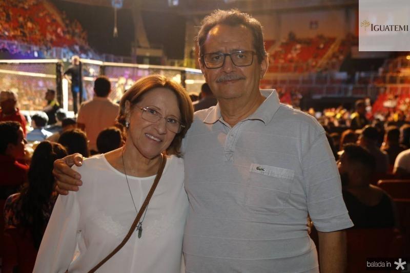 Silvia e Cesar Pinheiro
