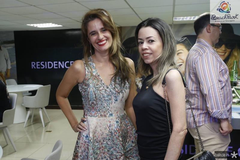 Sandra Sampaio e Karol Bang