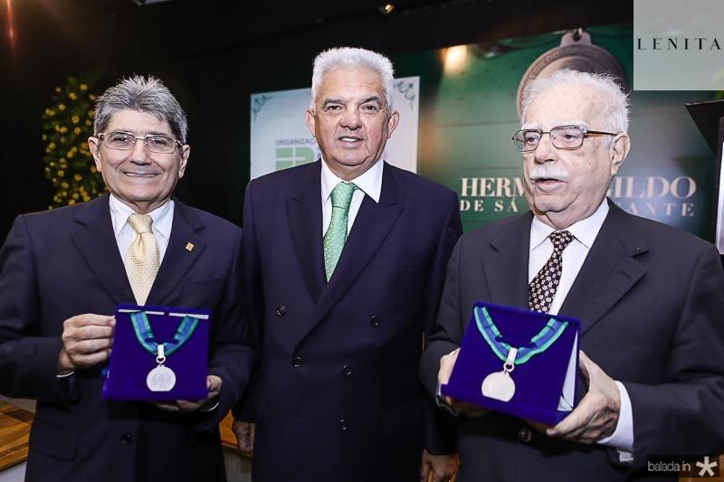 Jose Augusto Bezerra, Tales Sa Cavalcante e Cid Carvalho