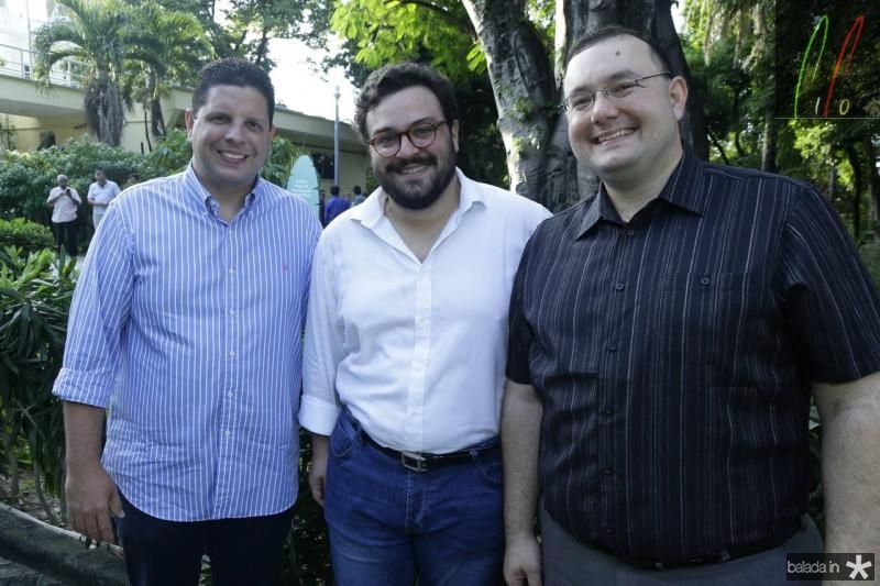 Homero Silva, Alcimor Neto e Mozia Torgan