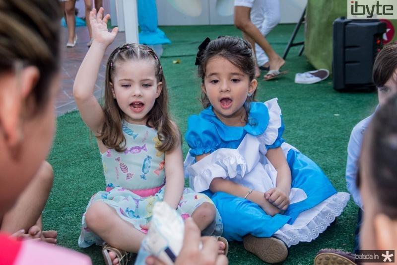 Melissa Vidal e Maria Rosa Aguiar