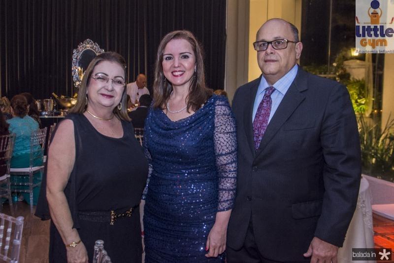 Mana Luna, Nicolle Barbosa e Francisco Philomeno