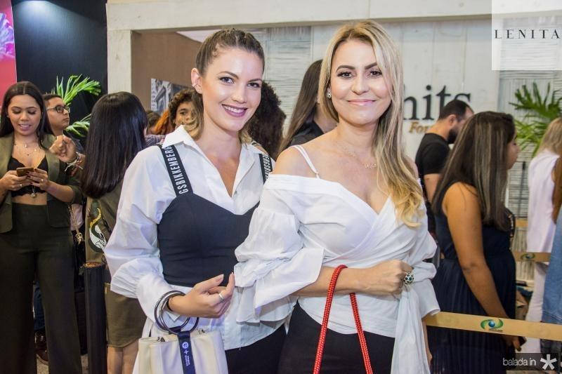 Paula Baioco e Nida Alves
