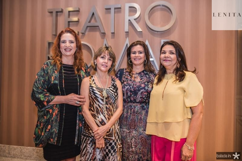 Enid Camara, Circe Jane, Ivana Bezerra e Celina Castro Alves